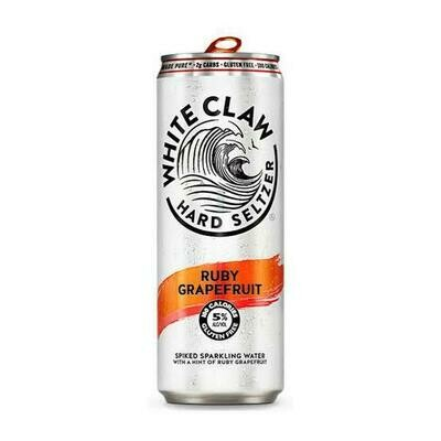 White Claw Hard Selection Ruby Grapefruit