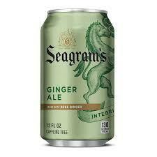 Seagram's Ginger Ale single