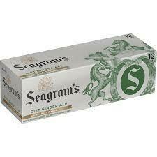 Seagram's Ginger Ale 12 pack