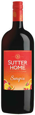 Sutter Home Sangria - Single