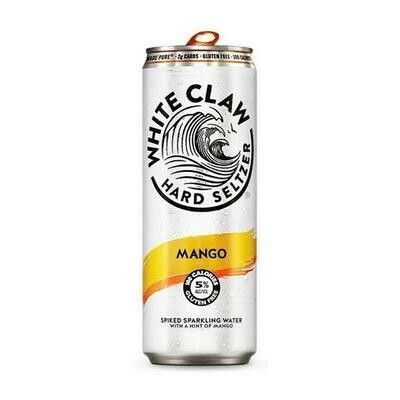 White Claw Hard Selection Mango single