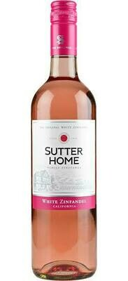 Sutter Home White Zifandel - single