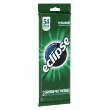 Eclipse Spearmint  18 pieces