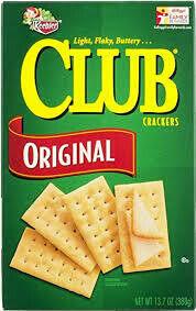 Keebler club crackers original