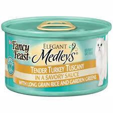 Fancy Feast Tender Turkey Tuscany 3 oz