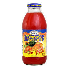 Tropical Rhythms Fruit Punch 16oz