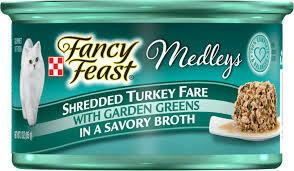 Fancy Feast Shredded Turkey Fare