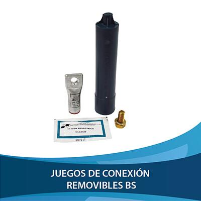 JUEGO DE CONEXIÓN REMOVIBLE