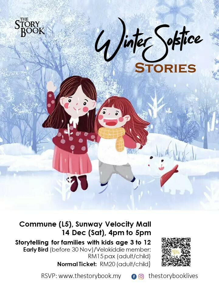 Winter Solstice Stories at Sunway Velocity