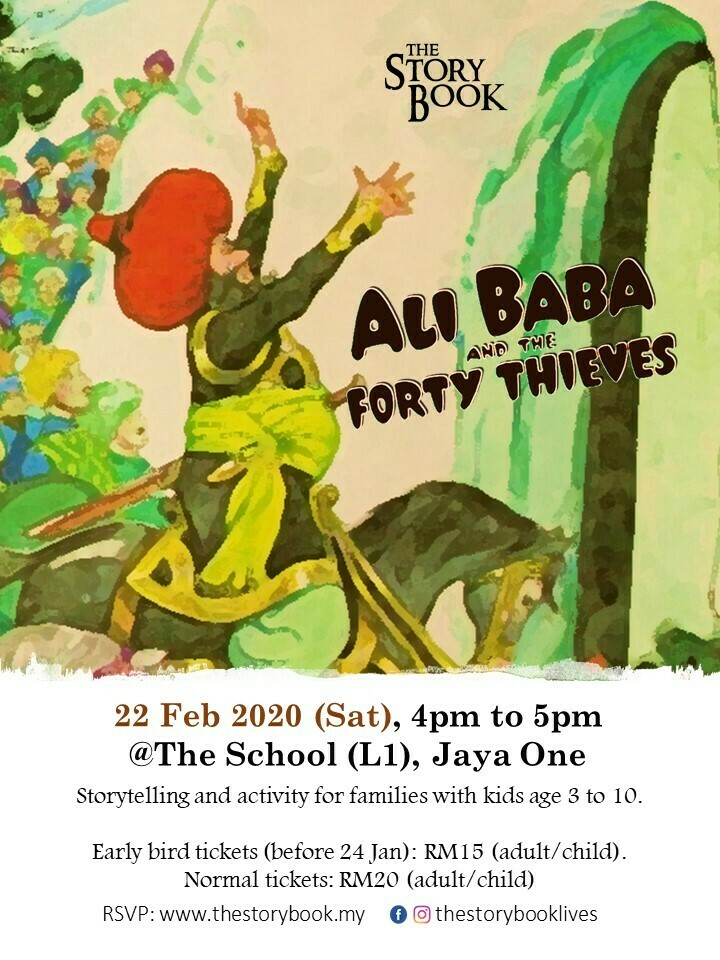 Ali Baba and the Forty Thieves at Jaya One