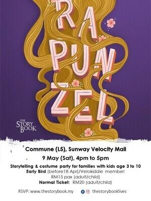 Rapunzel at Sunway Velocity