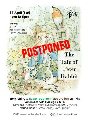 The Tale of Peter Rabbit at Plaza Arkadia