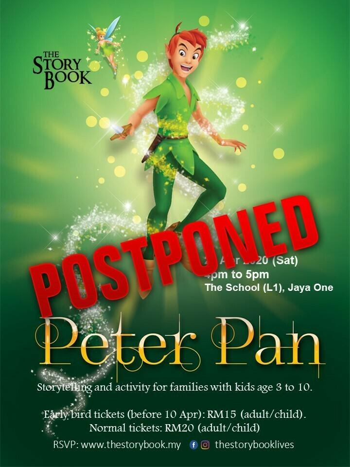 Peter Pan at Jaya One