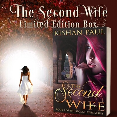 The Second Wife box with signed The Second Wife