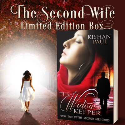 The Second Wife box with signed The Widow's Keeper