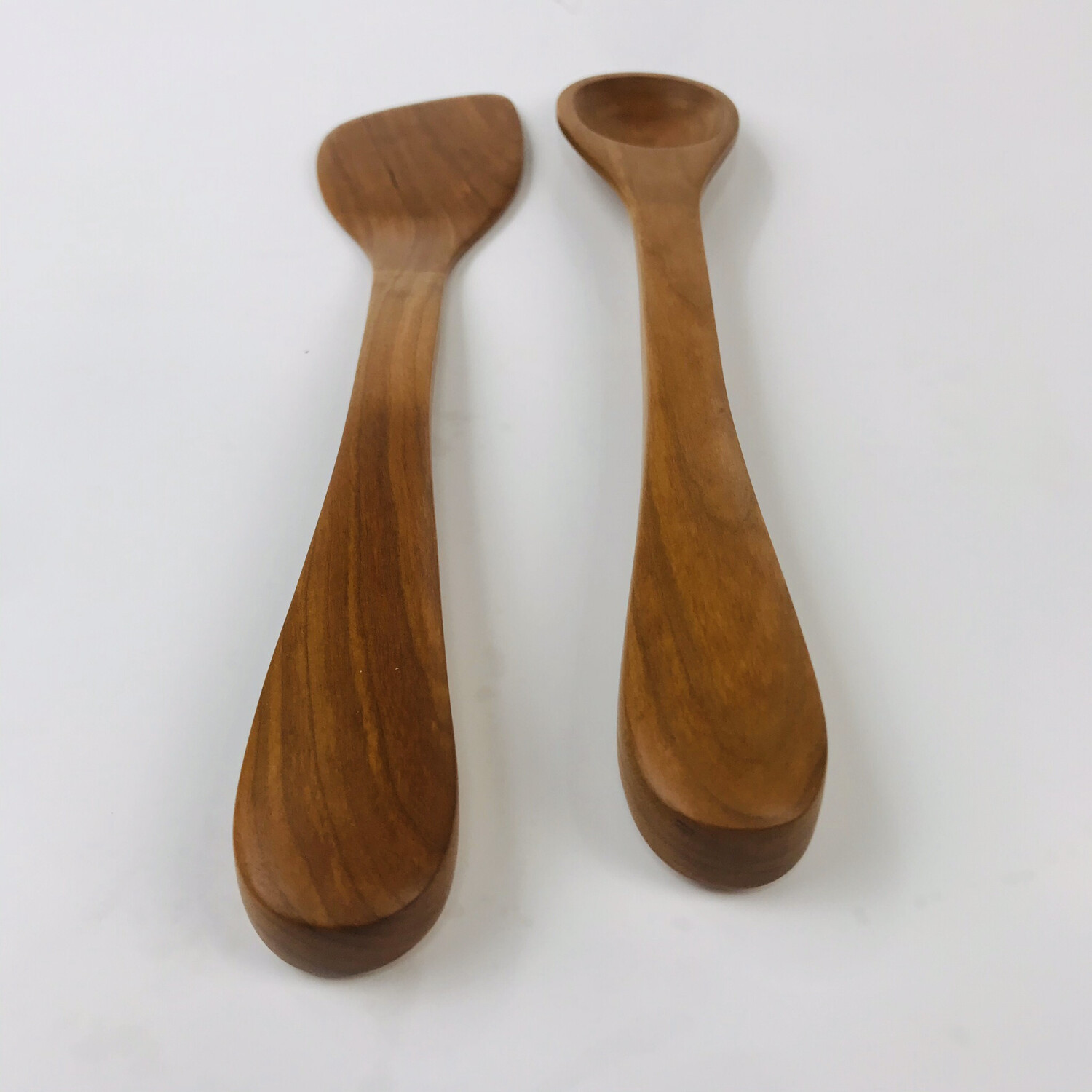 Natural Cherry Cooking Spoon And Spatula