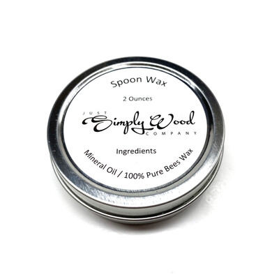 2 oz Tin of Spoon Wax