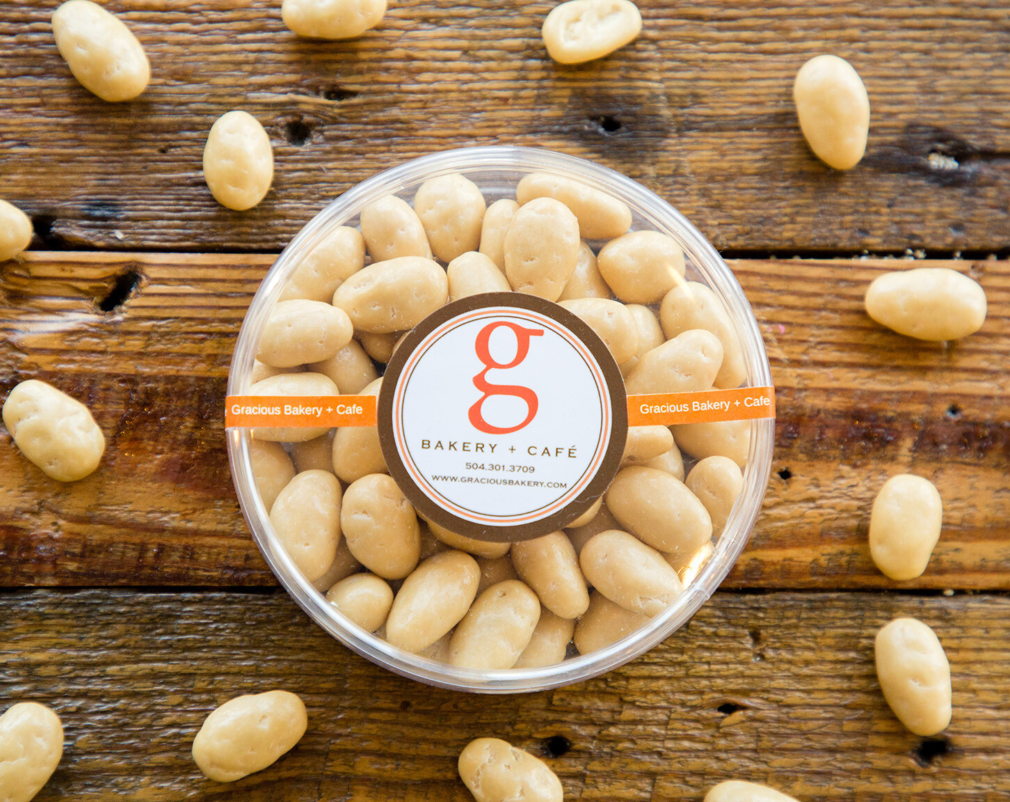 Passionfruit Almonds