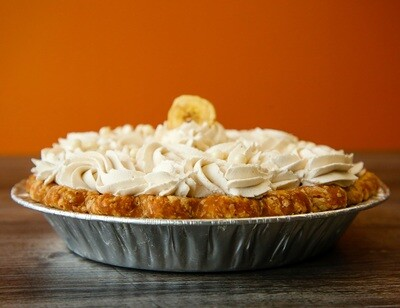 Banana Cream Pie with White Chocolate Spiced Ganache