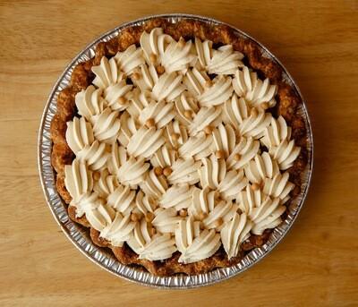 Pumpkin Pie with Valrhona Dulcey Whipped Ganache