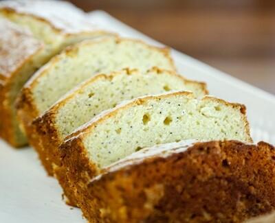 Lemon Ricotta Poppyseed (loaf)