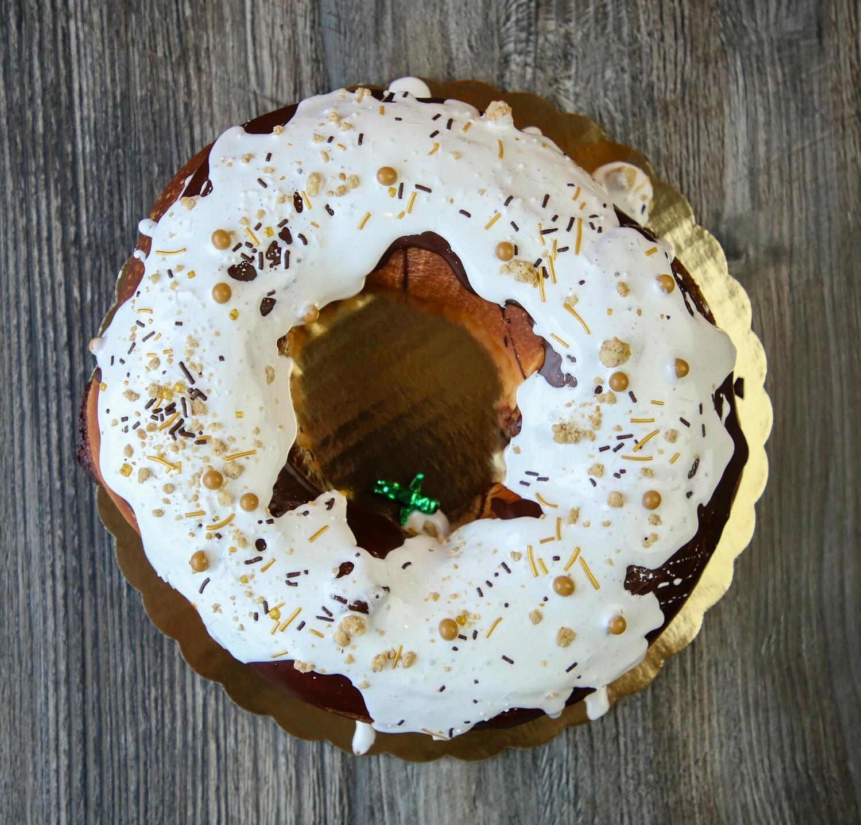 Mardi Gras Moon Pie