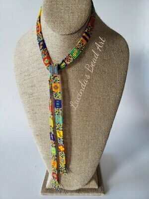 Order Amongst Chaos Lariat Necklace - many colors
