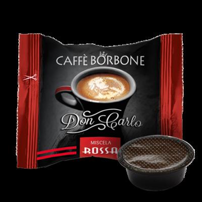 100 Caffè BORBONE Don Carlo - miscela RED - Compatibile A MODO MIO