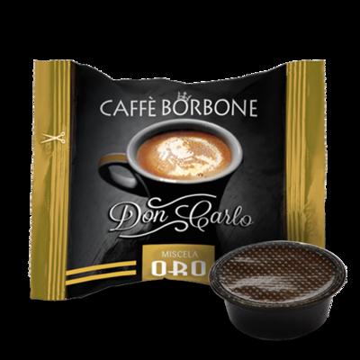 100 Caffè BORBONE Don Carlo - miscela ORO - Compatibile A MODO MIO