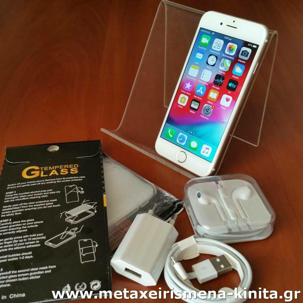 iPhone 6 64GB, 100% υγεία μπαταρίας
