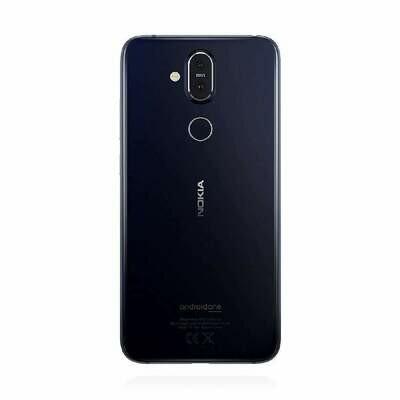 Nokia 8.1 Dual Sim 64GB Blue Silver