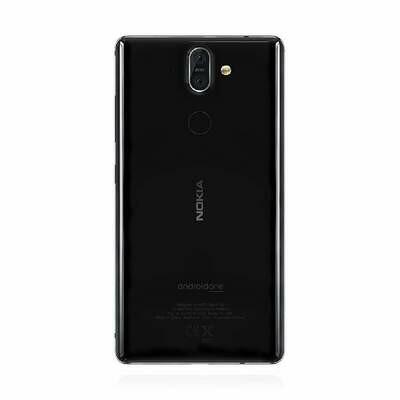 Nokia 8 Sirocco 4G 128GB Single Sim Schwarz