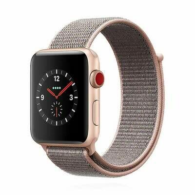 Apple WATCH Series 3 GPS + Cellular 42mm Aluminiumgehäuse gold Sport Loop rosa