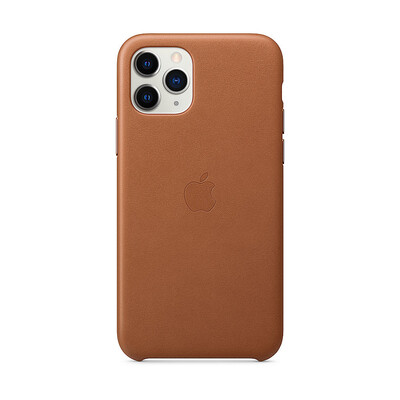 Apple Original iPhone 11 Pro Leder Case-Sattelbraun