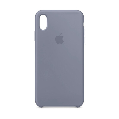 Apple Original iPhone XS Max Silikon Case-Lavendelgrau