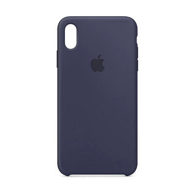 Apple Original iPhone XS Max Silikon Case-Mitternachtsblau