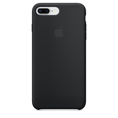 Apple Original iPhone 8 / 7 Plus Silikon Case-Schwarz