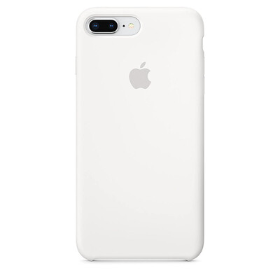 Apple Original iPhone 8 / 7 Plus Silikon Case-Weiß