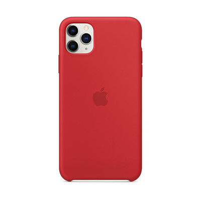 Apple Original iPhone 11 Pro Max Silikon Case-PRODUCT(RED)