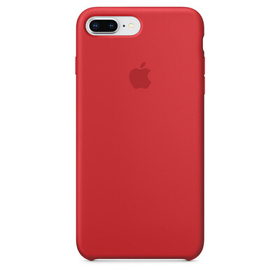 Apple Original iPhone 8 / 7 Plus Silikon Case-(PRODUCT)RED