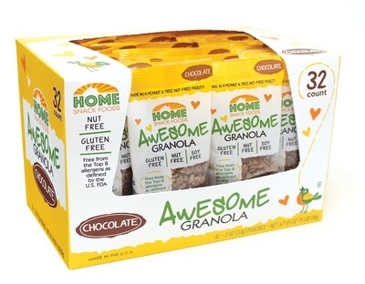Awesome Granola - Chocolate - 32-pack, 2.0 pouch