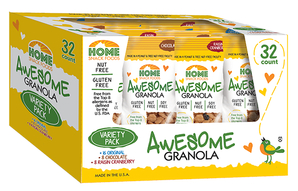Awesome Granola - Variety Pack - 32-pack, 2.0 pouch
