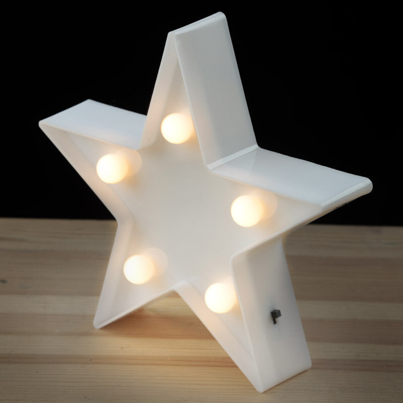 Lámpara LED Estrella