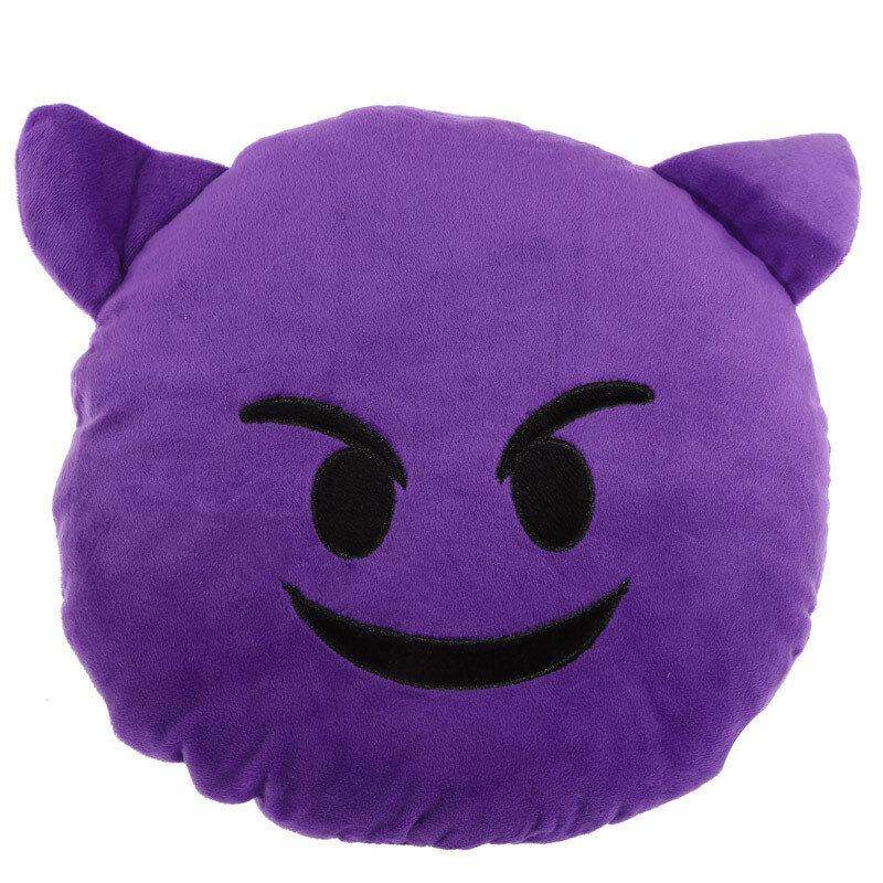 Cojín Emoticono Demonio