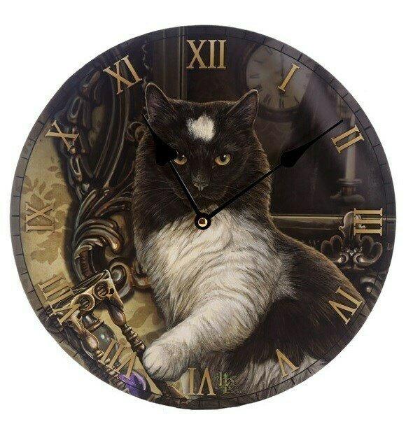 Reloj Gato y Tiempo