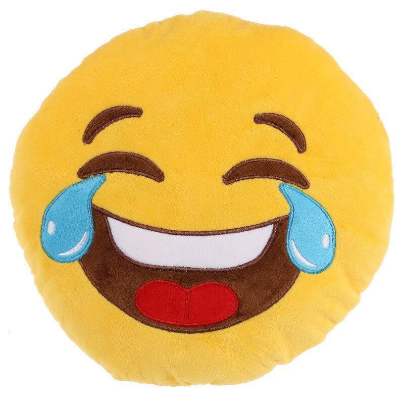 Cojín Emoticono Risas