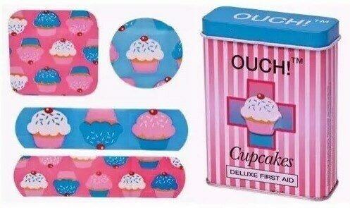 Cajita con Tiritas Cupcakes