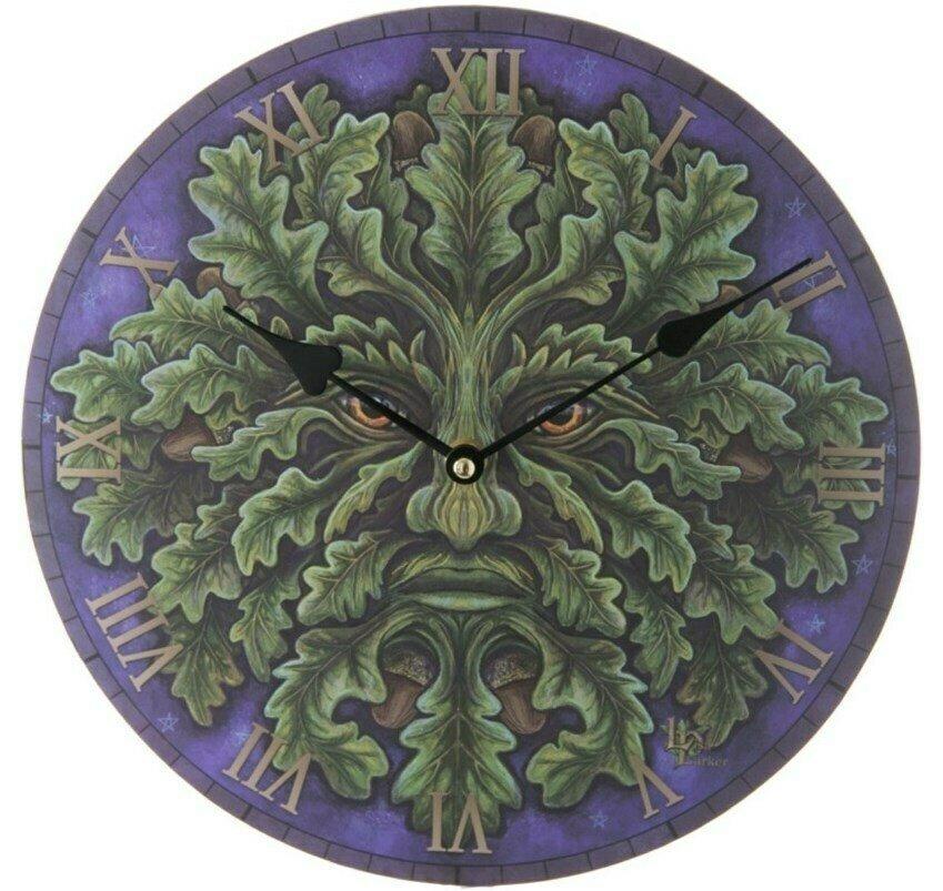 Reloj de Pared Hombre Verde
