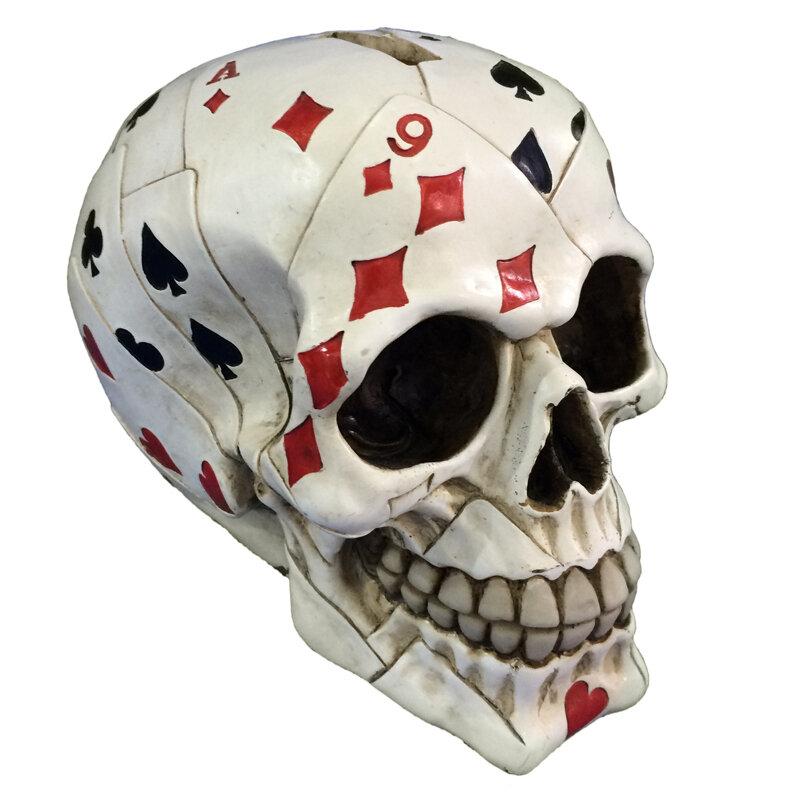 Calavera Cartas Poker