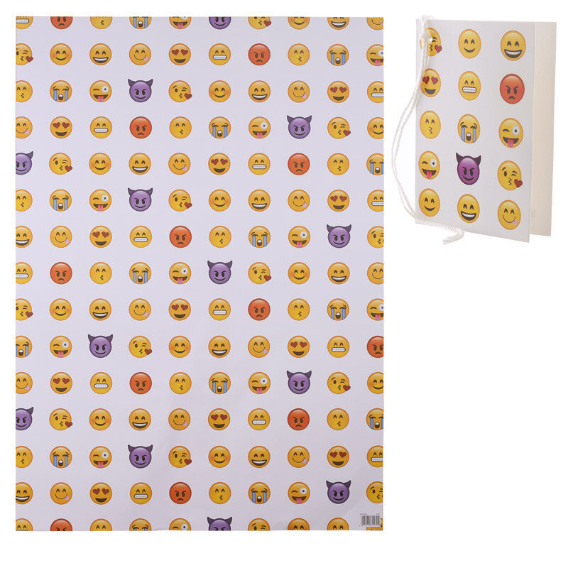 Papel de Regalo Emoticono